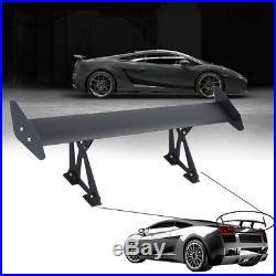 110cm /43'' Universal Hatchback Aluminum GT Auto Rear Trunk Wing Racing Spoiler