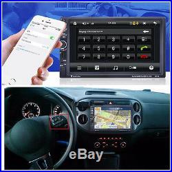 12V 7.0 HD 2 Din In-dash Car Stereo MP5/WMA Player GPS Navigation Handsfree FM