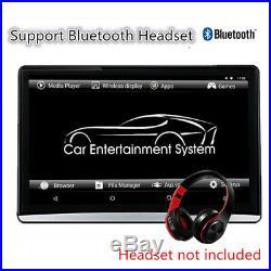 12.5 HD1080P Android6.0 RAM 2GB ROM 8GB WIFI BT HDMI Headrest Rear Seat Monitor