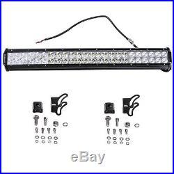 144W CREE LED Combo Offroad Driving Work Light Bar ATV Truck 4X4 + Wiring Kit