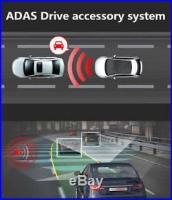 170° HD 4G Car DVR Dual Len Wifi Bluetooth Night Vision GPS Tracker MP3 Player