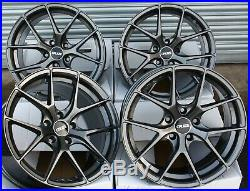 18 Alloy Wheels Cruize Gto Gm Concave Matt Gunmetal 5x120 18 Inch Alloys