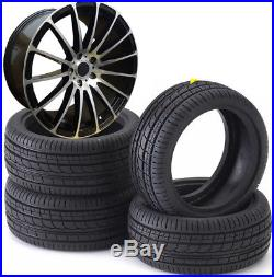 18 Vw t5 t6 Aamrok Vauxhall Insignia Alloy Wheels FORCE 5 & Tyres 245/45r18