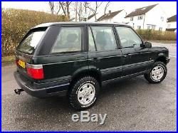 1996 Range Rover P38 2.5 BMW diesel Manual Off Road Specification Located Oxford