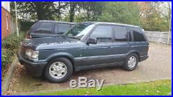 1996 range rover p38 2.5 blue full mot lots spent execellent tyres eas fault