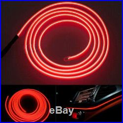 1Set 2M LED Car Interior Decorative Atmosphere Wire Strip Light Lamp Accessories