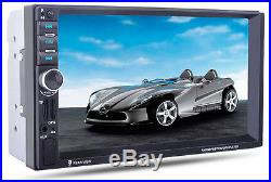 1X HD Car MP5 Player GPS Navigation Car Bluetooth Stereo MP3 Player Touch Screen
