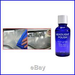 1x 30ML 9H Headlight Cover Len Restorer Repair Liquid Polish Cleaner Accessories