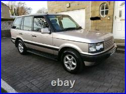 2000 Range Rover P38 2.5 Dse Auto Silver 1 Former Keeper S/history Superb 4x4