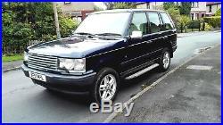 2001 Range Rover P38 2.5 Dhse Auto Blue Full M. O. T F. S. H Excellent Condition 4x4