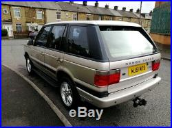 2001 Range Rover P38 2.5 Dhse Auto Silver (bmw Diesel) With M. O. T Superb 4wd