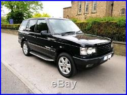 2001 Range Rover P38 4.6 Vogue Auto Black Lpg Long Mot Top Spec Great Condition