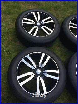 20 Land Rover Discovery 4 Landmark Alloy Wheels Diamond Cut Michelin Tyres