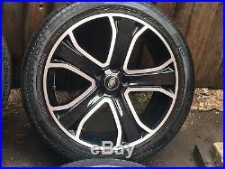 20 Range Rover Sport VW Transporter T6 T5 T5.1 Black Edition Alloy Wheels