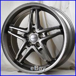 20 inch ALUTEC POISON 5x120 ET45-70 10J GUNMETAL alloy wheels Bentley AZURE BMW