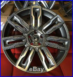 22 Hawke Hermes Alloy Wheels Fits Range Rover Vogue Sport Discovery