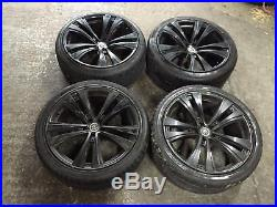 22 Mania Alloy Wheels And Tyres Fit Range Rover Sport Vogue Disco Vw Amarok