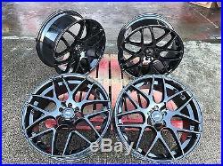 22'' New Gloss Black Alloy Wheels Alloys Rims + Tyres Range Rover Vogue Sport