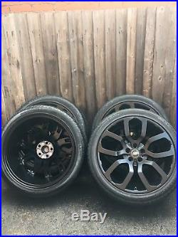 22 Range Rover Sport Vogue Autobiography Alloy Wheels Svr 275 40 22 Tyres
