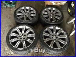 22 Range Rover Stormer Style Alloy Wheels And Tyres Fit Range Rover Vogue Disco
