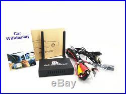 2.4G+ 5G Car WiFi Display System Mirror Link Box 1080P HDMI for Android iOS