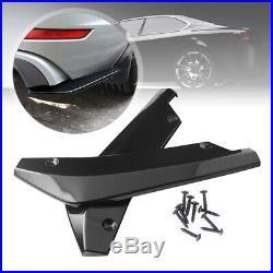 2x Car Rear Lip Bumper Spoiler Canard Diffuser Wrap Angle Splitter Anti-crash UK