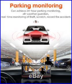 4G Dual Lens Car DVR Dash Cam GPS Navigation Android Bluetooth Car Charger Wifi