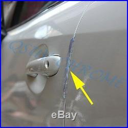 4x Car Door Edge Guard Scratch Protector Strip Anti-rub Rubber Auto Accessories
