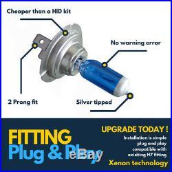 4x H7 Xenon White Headlight 100w Car Bulbs Dipped Dipped 12v Headlamp Hid Light