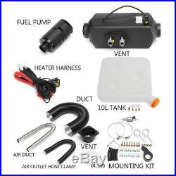 5KW 12V Air diesel Heater For Cars Truck Bus Van Trailer LCD Switch + Silencer