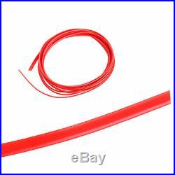 5M Point Molding Red Edge Gap Line Garnish For Car Interior Accessory Universal