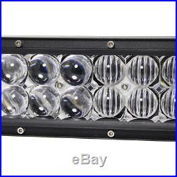 6D 672W 50INCH LED Combo Work Light Bar Offroad Driving Lamp 4WD Truck SUV UTV