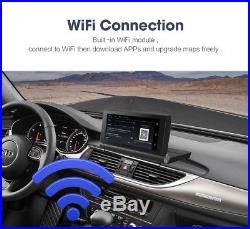 6.86 Touch Screen WI-FI 4G Car DVR Video Recorder Europe GPS + Rear Cameras