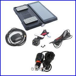 7'' HD Touch Screen Car DVR Recorder Night Vision Bluetooth GPS Navigation Wifi