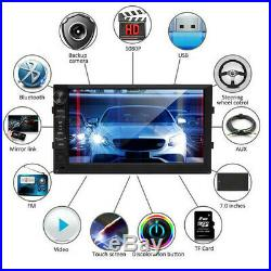 7 Inch Android 8.1 Car Stereo GPS Navi Bluetooth 4.0 Radio USB For Audi A3 A4 A5