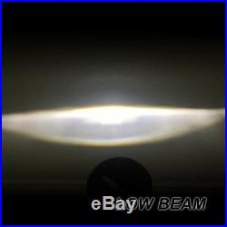 7 LED Headlights x2 Chrome 50W E Marked UK EU Halo Indicator Free LED 750AC