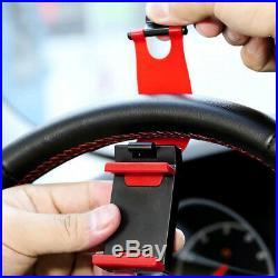 AUTO CAR DECORATIVE ACCESSORIES Clip Car Steering Wheel Bike Handlebar Holder
