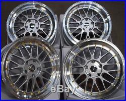 Alloy Wheels X 4 18 Gold Dare Stud Rt Land Range Rover Bmw X1 X3 X4 X5 Vw T5