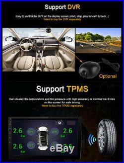 Android 8.1 10 Single Din Car Stereo DAB Radio GPS SAT NAV WiFi Mirror Link BT