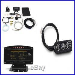 Auto Race Car Dash Sensor Rally Gauge Full Sensor Kit Oil Temp Water Temp Alarm