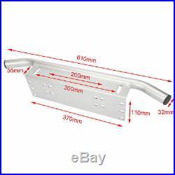 Bull Bar Bumper License Number Plate Mounting Bracket Holder for Work Light Bar