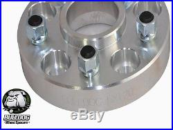 Bulldog 30mm Aluminium Wheel Spacers Range Rover P38 & Land Rover Discovery 2