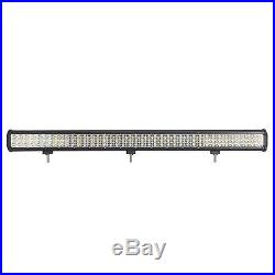 CREE Chip LED Combo Work Light Bar 37INCH 1404W Offroad Driving 4WD BOAT Tri-Row