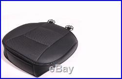 Durable Black PU Leather Car Front Rear Back Seat Pad Mat Soft Warm Car Cushion