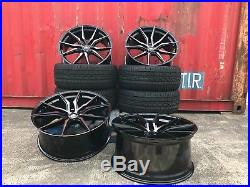 FOR Range Rover Sport Vogue Discovery 22 inch Wheels TYRES SPYDER BLACK PEARL