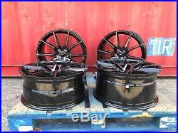Fits Range Rover 22 Alloy Wheels Velar / Discovery Sport / Evoque Black Pearl