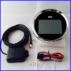 GPS Speedometer Universal For Marine Car GPS Digital Speedometer Odometer Gauge
