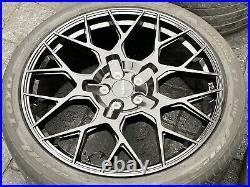 Genuine 23 Velocity Range Rover Sport Vogue Discovery Alloy Wheels Svr Tyres