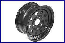 Grw012 Set Of 4 Modular Steel Wheel Black Land Rover Disco 2 & Range Rover P38