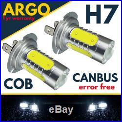 H7 Led Xenon White light Bulbs Car Cob Super 477 Headlight Headlamp Halogen 12v